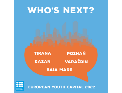 Who are the finalists for European Youth Capital 2022?