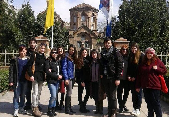 2η ξενάγησης στην πολιτιστική κληρονομιά της Θεσσαλονίκης